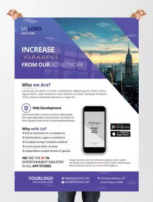 Agency Business Free PSD Flyer Template