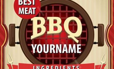 BBQ FREE PSD Flyer Template