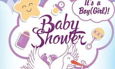 Baby Shower - Free Invitation Event PSD Flyer