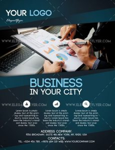 Business – Free Flyer PSD Template