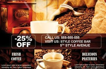 Coffe FREE PSD Flyer Template