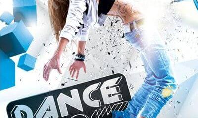 Dance Show FREE PSD Flyer Template