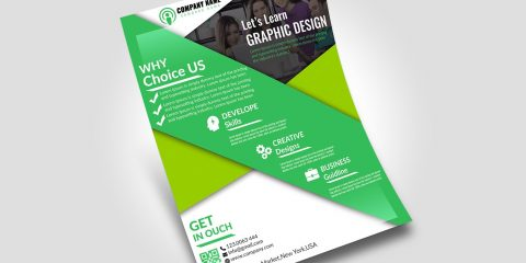 Free Business and Corporate PSD Flyer Template