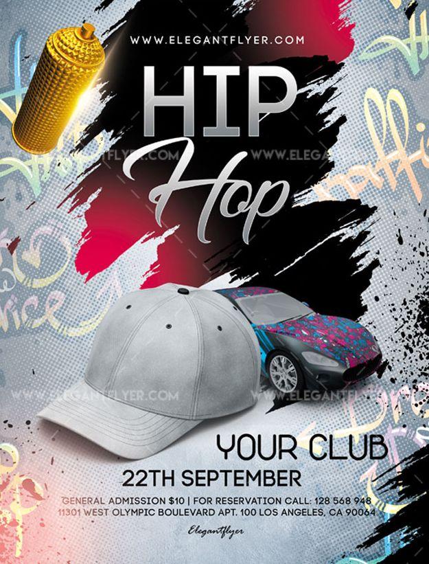 Hip Hop – Free Flyer PSD Template