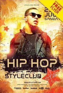 Hip Hop Star FREE Flyer PSD Template