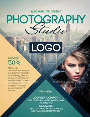 Photography FREE PSD Flyer Template
