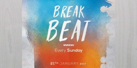 Break Beat – Free PSD Flyer Template