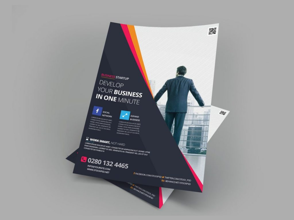 Business Flyer Vol.3 – Free PSD Flyer Template