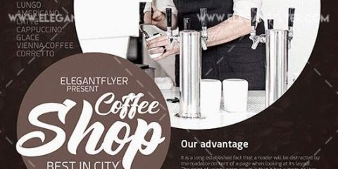 Coffee Shop Free PSD Flyer Template