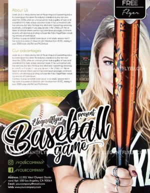Free Baseball Flyer Template