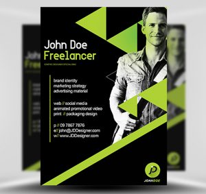 Freelancer – Free PSD Flyer Template