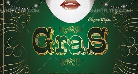 Mardi Gras – Free Flyer PSD Template