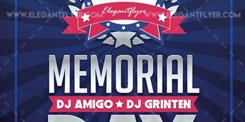 Memorial Day 2019 – Free Flyer PSD Template