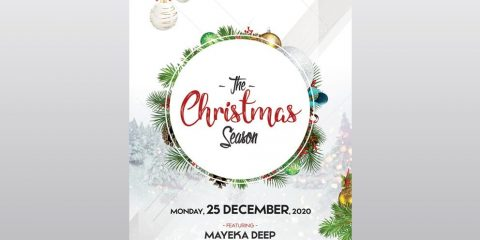The Christmas Season – Free PSD Flyer Template