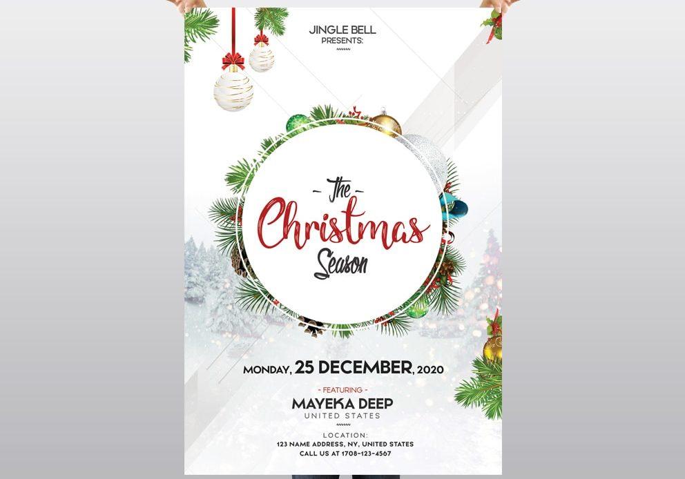 The Christmas Season – Free PSD Flyer Template