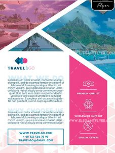 Travel Agency – Free Flyer PSD Template