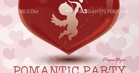 Valentine`s Day – Free Flyer PSD Template