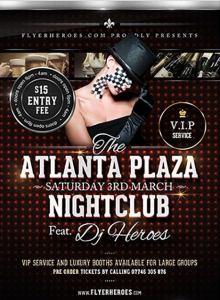 Atlanta Plaza Free PSD Flyer Template