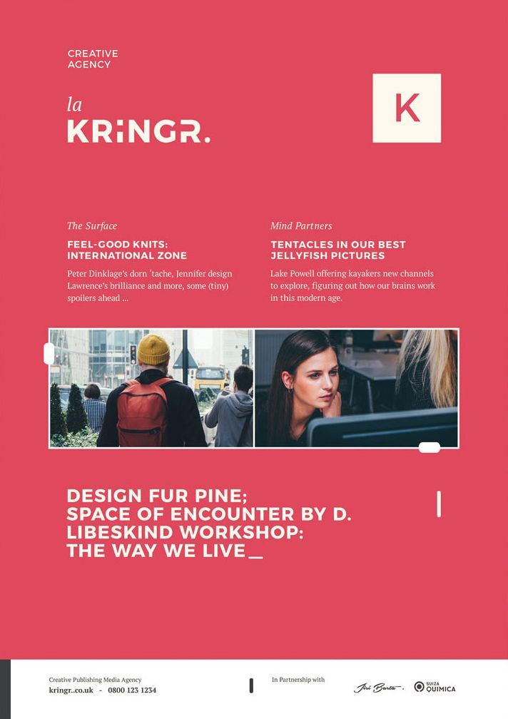 Creative Agency Services – Free PSD Flyer Template