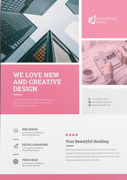 Creative Business Free Flyer Template