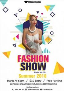 Fashion Show Free Flyer Template