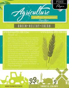 Free Agriculture and Farming Flyer template