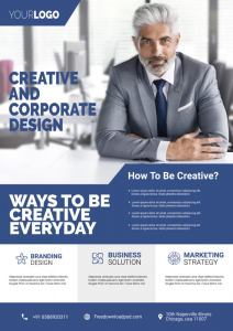 Free Corporate Flyer PSD Template