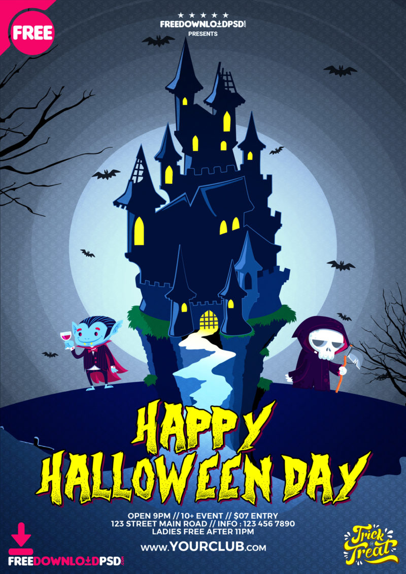Halloween Day Flyer Template