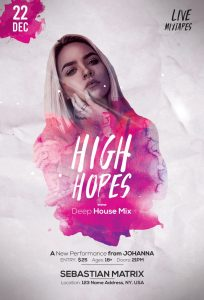 High Hopes – Free PSD Flyer Template
