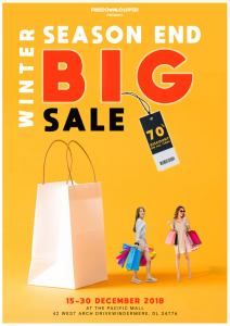 Winter Sale Free Flyer PSD Template