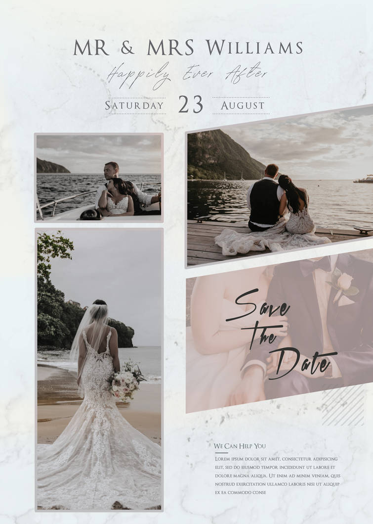 Free Wedding Photography Studio PSD Flyer Template