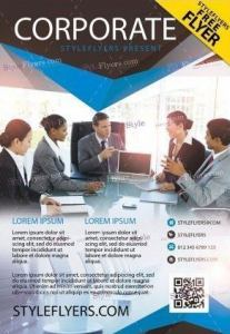Corporate PSD Flyer for Free