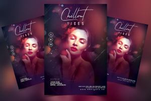 Chill Out Vibe Free PSD Flyer Template