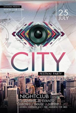 City Festival Party Flyer