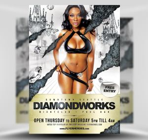 Diamondworks Free Flyer Template