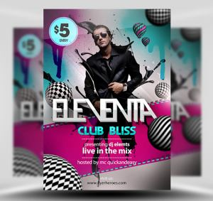 Eleventa Free Flyer Template