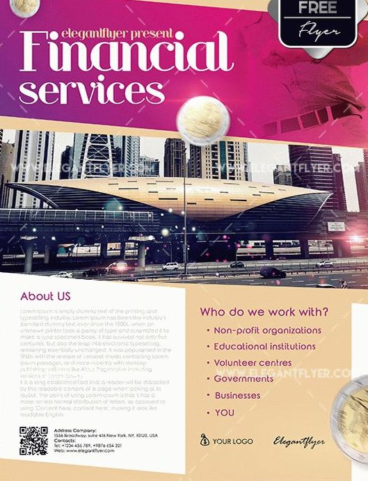 Free Financial Services Flyer Templates