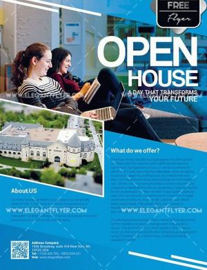 Open House Flyer Template Free