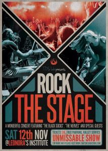 Rock the Stage Free PSD Flyer Template
