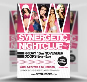 Synergetic Free Flyer Template