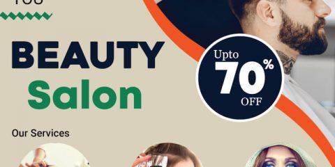 Beauty Salon Free PSD Flyer Template