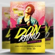Club & Party Free PSD Flyer Template
