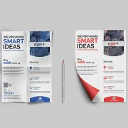 Corporate Agency PSD Free Flyer Template