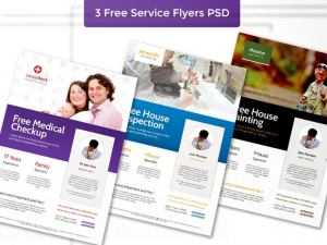 Medical & Health Free PSD Flyer Template