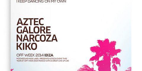 Palms & Beach Free PSD Flyer Template