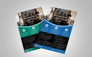 Business Corporate Free PSD Flyer Template