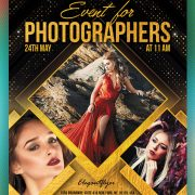 Photographer Event Free PSD Flyer Template