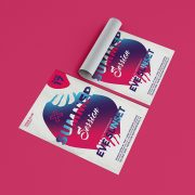 Summer Sessions - Free Electro PSD Flyer Template