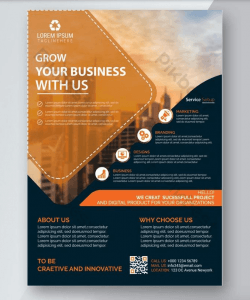 Creative Corporate Agency Free PSD Flyer Template