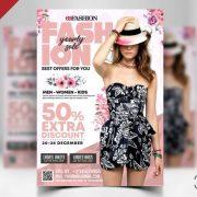 Fashion Sale Boutique Free PSD Flyer Template